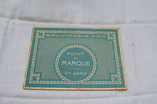ALBUM BIBLIOTHEQUE D.M.C. - POINT DE MARQUE IIME SERIE