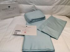 Queen Sheets Northern Nights 700Tc 100% Organic Supima Cotton Sheets Seaglass