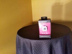 Garmin Forerunner 25 GPS Running Watch Pink and White