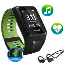 TomTom Runner 3 - Cardio - Music - HP - Black/Green - Large (A)