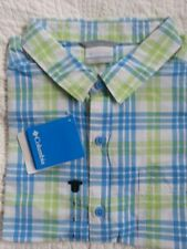 Columbia Regular Size L Button-Front Casual Shirts for Men