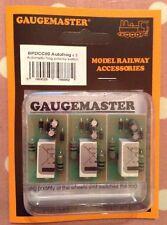 More details for gaugemaster bpdcc80. autofrog (3 pack). for model railways