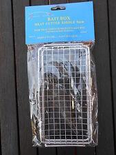 Acier Inoxydable 9 mm viande Cutter s'adapte à la Pêche Appât Boîte Carpe Barbeau brème tanche chub