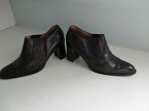 schöne Halb-Schuhe Stilettos YESSICA Gr.39 schwarz hoher Absatz