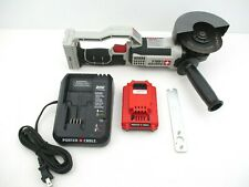 """Porter Cable 4.5"""" Cordless Angle Grinder 20 Volt Max + Battery & Charger PCC761"""