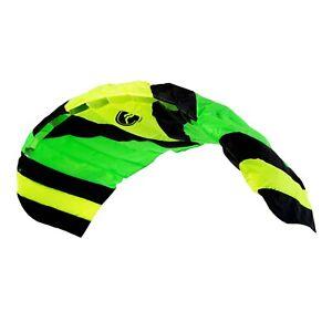 Paraflex Sport 1.7 Grün Lenkmatte Wolkenstürmer Lenkdrachen Kite Drachen