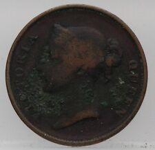 East India Company British India- 1845 one cent