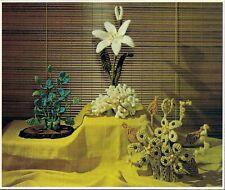 Trillium, Lily & Cactus Flower Patterns - Craft Book: #CCP1 Bloomin' Macrame