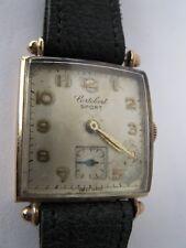 1950's solid gold men's wrist watch.