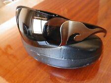 PRADA Men Women Silver Wave Wrap Sunglasses SPR58F