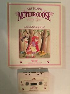 1986 WOW MOTHER GOOSE LITTLE RED RIDING HOOD BOOK & CASSETTE TAPE