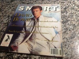 1990 David Bowie,Kurt Vonnegut,Roger Corman...awesome THIN WHITE DUKE cover