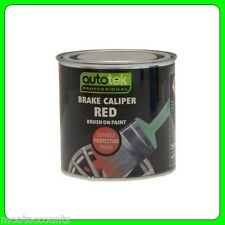 * Pack of 2 * Red Brush On Brake Caliper Paint [CALR250] Also For Drums