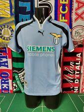 Maglia Calcio Lazio Home 2000/01 Size S Shirt Trikot Camiseta Maillot Jersey