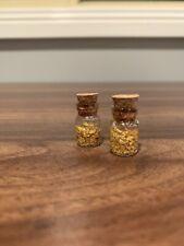 Australian Natural Gold Fines (2 X .70g Vials)