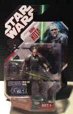 Star Wars Force Unleashed Rahm Kota New Sealed On Card Action Figure