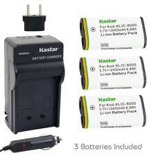 KLIC-8000 Regular Charger& Battery for Kodak Z1012 IS,Z1015 IS,Z1085 IS,Z1485 IS