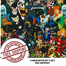 """Hydrographic Water Transfer Hydro Dipping Dip Heroes & Villains Film 1M 19""""X38"""""""