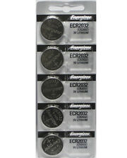 5 Pcs Energizer CR2032 ECR2032 2032 3V Lithium Battery