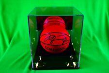 Michael Jordan Signed Chicago Bulls Spalding NBA Official Game Mini Basketball