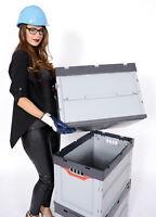 2 x Faltbox Auer FB43/32 Kunststoff Transportbox Stapelkiste Box 40x30x32cm 31L