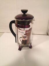 Primula French Press Coffee Tea Maker 1 Quart NEW UNUSED Purple Lid