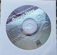 GEORGE JONES KARAOKE CDG COUNTRY KARAOKE CLASSICS CKC26 - CEREMONY,GOLDEN RING