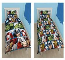 Marvel Avengers Assemble Reversible Single Duvet Kids Comfortable Bedding Set