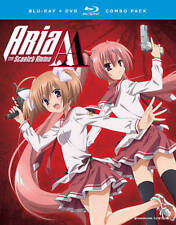 Aria the Scarlet Ammo AA : The Complete Series Blu-ray + DVD Combo Pack W/ Cover