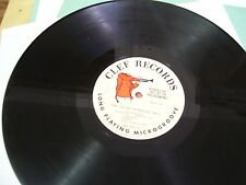 NORMAN GRANZ' JAZZ AT THE PHILHARMONIC- LP-VG+-PART IV-CLEF RECORDS