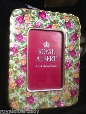 ROYAL ALBERT *OLD COUNTRY ROSE* CHINTZ- Picture Frame