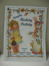 Simply Hickety Pickety Marlene Stevens Decorative Tole Painting Book Scarecrow