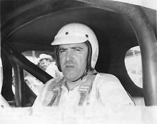 OLD MOTOR RACING PHOTO 1960S Leo Cleary Of Hanover Ma Raced Modified Stock Cars