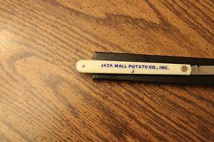 Jack Mall Potato Co. Advertising Knife