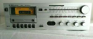 RFT SC1800 silber DDR Kompaktanlage Stereo-Receiver mit Kassette Casseiver