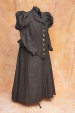 Viktorianisches Kleid mit Puffärmel, maßgeschneidert, S-XXL, Farben