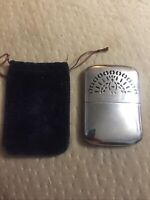 Vintage Peterson's Peacock Pocket Hand Warmer w/ original cover