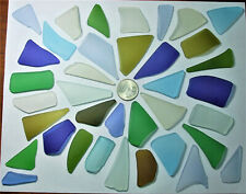 New listing 37 Cultured Sea Glass ~ Artist Mix ~ Sun Catchers/Wind Chimes