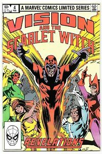 Vision & The Scarlet Witch #4 (02/1983) Marvel Comics Mini Series Hit TV Show