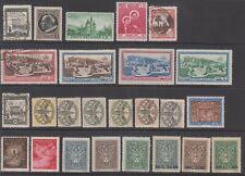 VATICAN - 25 Stamps as seen (1142)