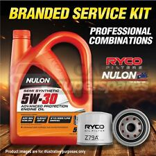 Ryco Oil Filter Nulon 5L SEM5W30 Engine Oil Kit For Hyundai I30 I20 PB Ix35 LM