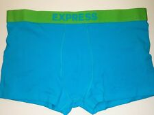 NEW EXPRESS XL SPORT TRUNK UNDERWEAR BOXERS Lime, Spa blue, Stretch cotton