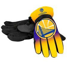Golden State Warriors Gloves Big Logo Gradient Insulated Winter Unisex S/M L/XL
