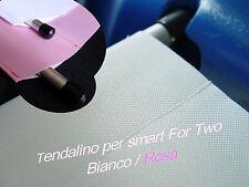SMART COPRIBAULE BAGAGLIAIO TENDALINO TENDINA FORTWO BIANCO ROSA HELLO KITTY 450