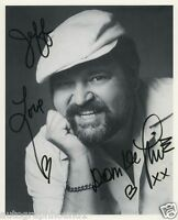 DOM DELUISE SIGNED AUTOGRAPHED BW 8X10 PHOTO