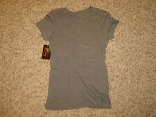 NWT Junior's EPIPHANY Dark Gray Tee T-ShirtT Size M Medium!!