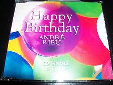 Andre Rieu Happy Birthday Rare Australian Collectable CD Single - Like New