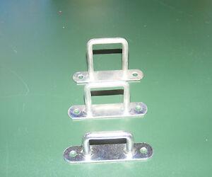 10 Stück Riemenkrampe, verzinkt, 16mm, 25mm, 35mm