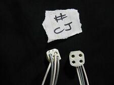 5x g10q 2d 4 Pin Lampada Fluorescente Luce PORTALAMPADA RACCORDO Job Lotto parti del Regno Unito #cj