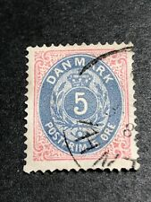 Denmark Scott 27 Used CV $72.50